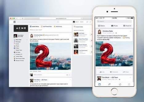 Facebook prepara su plataforma para empresas: Facebook at Work | JAV - #SocialMedia, #SEO, #tECONOLOGÍA & más | Scoop.it