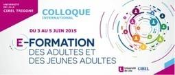 Colloque E-formation des adultes et des jeunes adultes   Entretiens Professionnels   Scoop.it