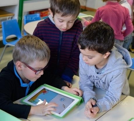 Le numérique prépare l'école de demain - Bien Public | E-classes | Scoop.it