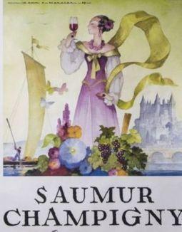 Les affiches de pub du Saumur Champigny se vendent aujourd'hui aux enchères chez Drouot | Vignoble d'Anjou-Saumur | Scoop.it