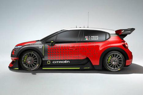 2017 Citroen C3 WRC | cars | Scoop.it