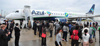 Azul launches biofuel demo flight | ATWOnline | The Biofuels Buzz | Scoop.it