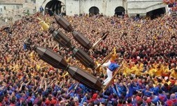 Race of the Giant Candles in Gubbio, Italy : Tuscany Travel Blog | Toscana Mia (My Tuscany) | Scoop.it
