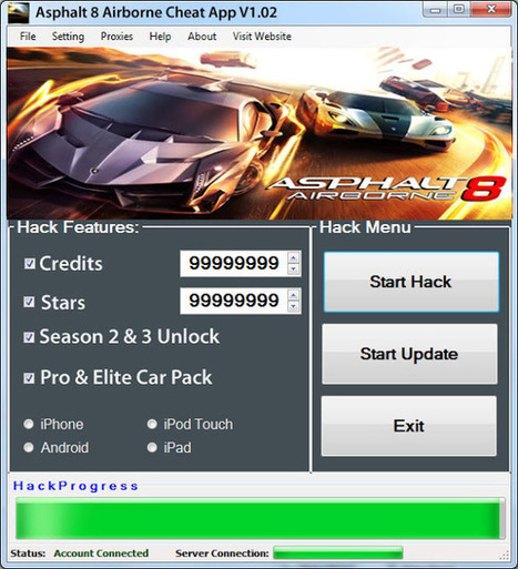 Trusted-Hacks | Download Best Hack Tools & Cheats For Android/iOS: Asphalt 8 Airborne Cheats For Unlimited Money Free Download | No Survey | Psychic Mysteries and ancient Indian Astrology | Scoop.it