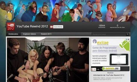 YouTube Rewind 2012, el canal que recoge los vídeos más vistos del 2012 en YouTube.-   Google+, Pinterest, Facebook, Twitter y mas ;)   Scoop.it