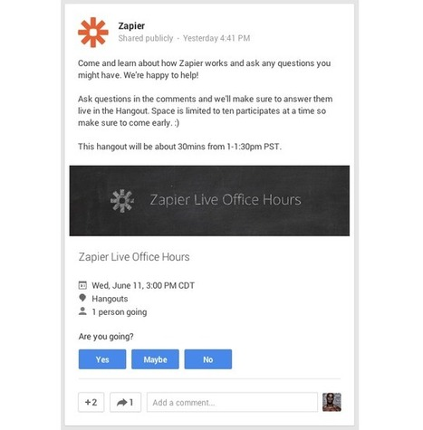 The Missing Guide for Google Hangout Video Calls - Zapier | Skolbiblioteket och lärande | Scoop.it
