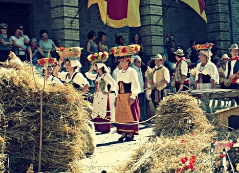 "The ""Canestrelle"" Festival, Amandola, Le Marche 