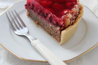 - fleur du poirier -: fig tarte with rasberries // tarte aux figues avec des framboises | greentea | Scoop.it