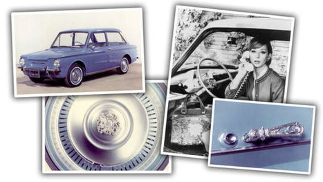 The Wonderfully Bizarre 'His And Her' Cars Of The 1960s | All things Sixties | Scoop.it