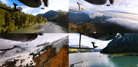 "360-Degree Video: A Beautiful Helicopter Ride Through Scenic Landscapes | ""Cameras, Camcorders, Pictures, HDR, Gadgets, Films, Movies, Landscapes"" 