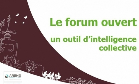 Kit outils Forum ouvert | ARENE Île-de-France | Forum Ouvert | Scoop.it