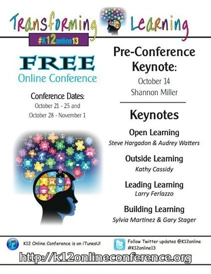 K12 Online Conference: Oct. 21 through Nov. 1 - Web-only | eLearning with Milissa | Scoop.it