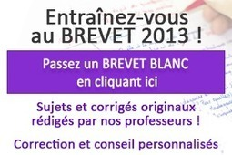 Entraînement à la dictée du BREVET - Intellego.fr | Réviser le brevet des collèges | Scoop.it