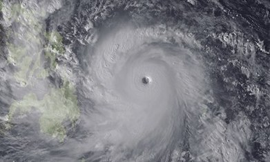 Typhoon Haiyan the biggest yet as world's tropical storms gather force | Sustain Our Earth | Scoop.it