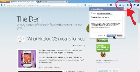 Firefox Adds a Share Button to the Browsing Experience - SocialTimes | Business in a Social Media World | Scoop.it