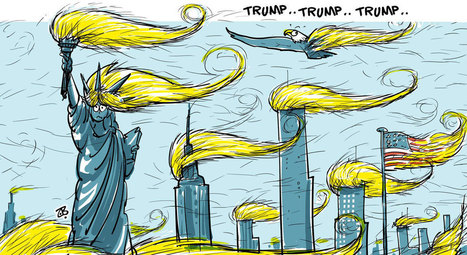 How The Rest Of The World Sees Donald Trump: 12 Foreign Political Cartoons | Interesting stuff for ESL EFL teachers | Scoop.it
