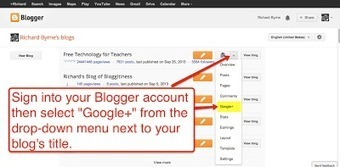 How to Enable or Disable Google+ Settings in Blogger | Blogging Tips | Scoop.it