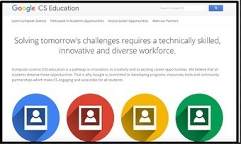 A New Website from Google to Help Students Learn Coding ~ Educational Technology and Mobile Learning | Edulateral | Scoop.it