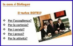 Distinguersi per non estinguersi;differenziarsi per nepotismo in Hotel | Hotel Web Marketing Turistico non Convenzionale | Hotel Web Marketing Turistico - Social Media Marketing per Strutture Ricettive | Scoop.it
