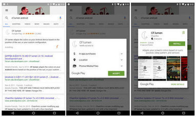 Des apps Android bientôt téléchargées directement depuis les résultats de Google? | Mobile Development | Scoop.it