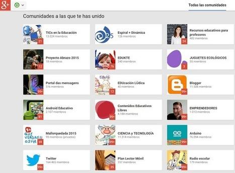 107 Comunidades Educativas de #Google+ | Entornos personales de aprendizaje - PLE | Scoop.it