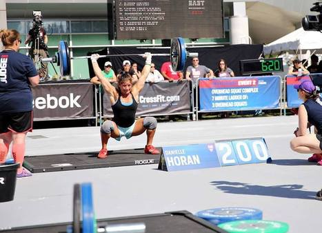 """""""My dentist introduced me to CrossFit."""" - Danielle Horan - 