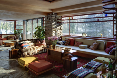 Frank Lloyd Wright's iconic 'Fallingwater'. | Cipriani Charles Designs | Architecture-Modern | Scoop.it
