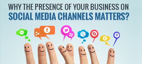 Why the presence of your business on social media channels matters? | Adoption of Mobile Social Media as a Strategic Marketing Platform and Tool in SMEs | Scoop.it