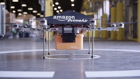 Amazon proposes drones-only airspace to facilitate high-speed delivery   Ecommerce logistics and start-ups   Scoop.it