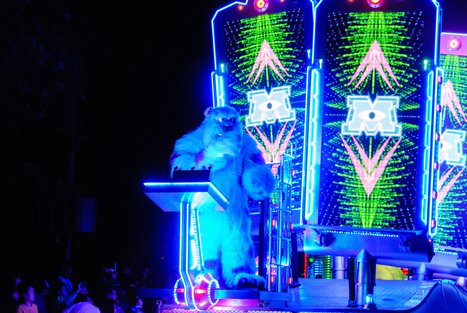 Paint the Night Comes to Disneyland! | Travel & Hospitality | Scoop.it