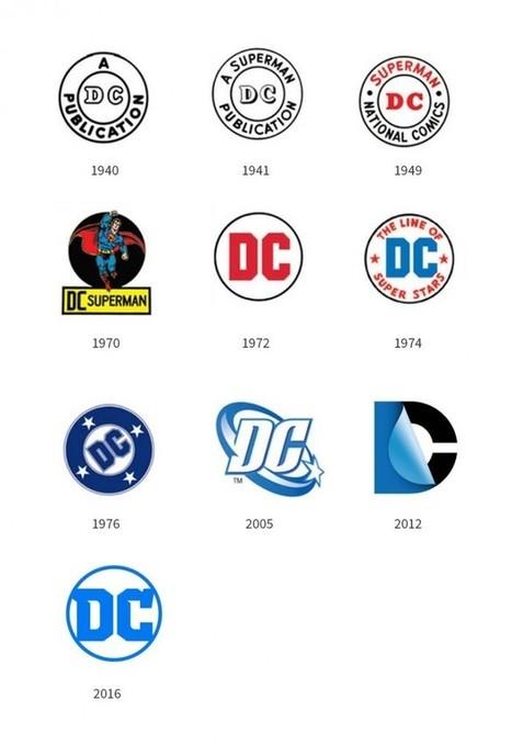 DC Comics change aussi souvent son logo que les JO | Graphic design | Scoop.it