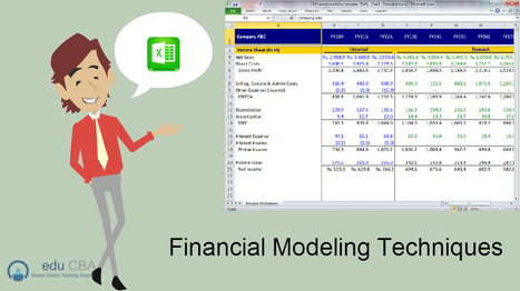 Financial Modeling Technique | | INVESTMENT BANKING IN INDIA | Scoop.it