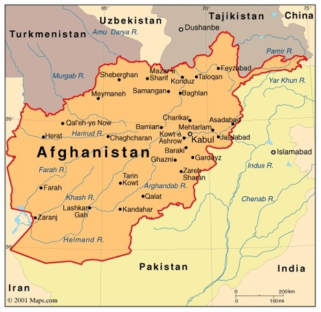 Afghanistan Atlas: Maps and Online Resources | Infoplease.com | A thousand splendid suns - Afghanistan | Scoop.it