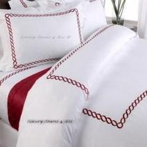 Red and White Bedding | Personal Shoppers | Scoop.it