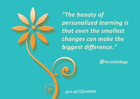 Personalize Learning: My Transformation as a Teacher | Leadership, Innovation, and Creativity | Scoop.it