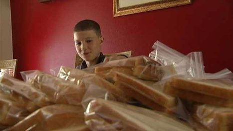 Portland boy trying to sack hunger in Portland with PB&Js | It's Show Prep for Radio | Scoop.it