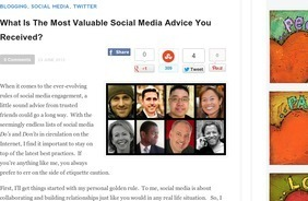 What is the most valuable social media advice you received?  |  Ann-Tran | Edtech PK-12 | Scoop.it