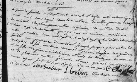 Trouver le mariage grâce à l'acte de sépulture | Châteauneuf et Jumilhac | L'écho d'antan | Scoop.it