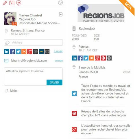 FullContact : extension Chrome pour tout savoir sur ses contacts Gmail - Blog du Modérateur | François MAGNAN  Formateur Consultant | Scoop.it