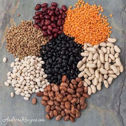 Dry Beans and Legumes Cooking Chart | 4-Hour Body Bean Cookbook | Scoop.it