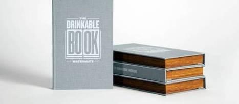 """Un livre """"buvable"""" pour sauver des millions de vies   Innovations et Développement durable   Scoop.it"""