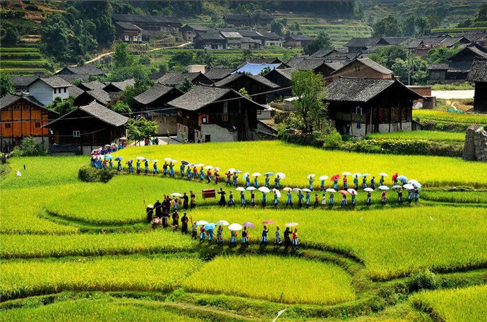 La vie de l'ethnie chinoise Miao en images | China.org | Kiosque du monde : Asie | Scoop.it