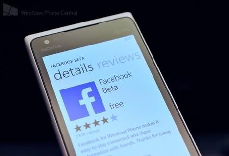 Facebook beta for Windows Phone gets a minor update today for bug fixes | Free Mobile, Orange, SFR et Bouygues Télécom, etc. | Scoop.it