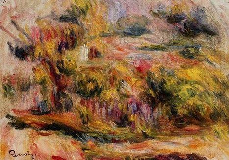 Oil painting reproduction: Pierre Auguste Renoir Landscape 1919 - Artisoo.com | Landscapes oil paintings | Scoop.it