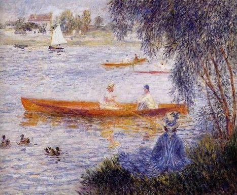 Varen Bij Argenteuil 1873 - Olieverfschilderijen | Landscapes oil paintings | Scoop.it