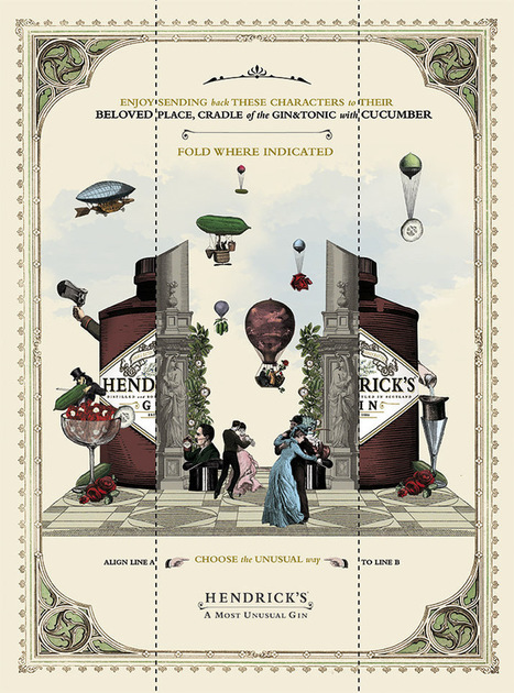 Hendrick's Gin: Choose the Unusual Way, 1 | Ads of the World™ | MdO | Scoop.it