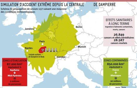 France: scénario noir pour l'accident nucléaire majeur | Toxique, soyons vigilant ! | Scoop.it