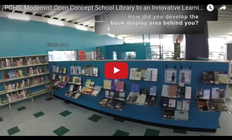 New QSLiN Hangout: PCHS: Modernist Open Concept School Library to an  Innovative Learning Commons | School Library Learning Commons | Scoop.it