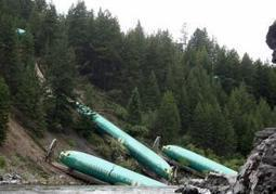 SEE IT: Train carrying plane parts derails, dumps Boeing bodies into Montana river - New York Daily News   Boeing   Scoop.it