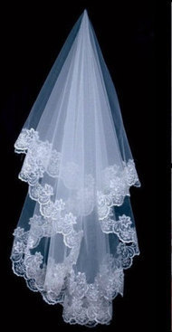 Wedding Veils: Birdcage Veils, Cathedral Length & More | wedding | Scoop.it